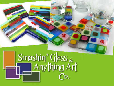 Island daily deals online coupons deals in nanaimo victoria across vancouver island - Smashing glass coasters ...