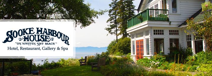 Sooke Harbour House Vancouver Island