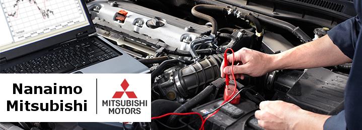 Save 53% off Nanaimo Mitsubishi's Peace of Mind Maintenance Package