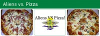 Aliens vs. Pizza Courtenay